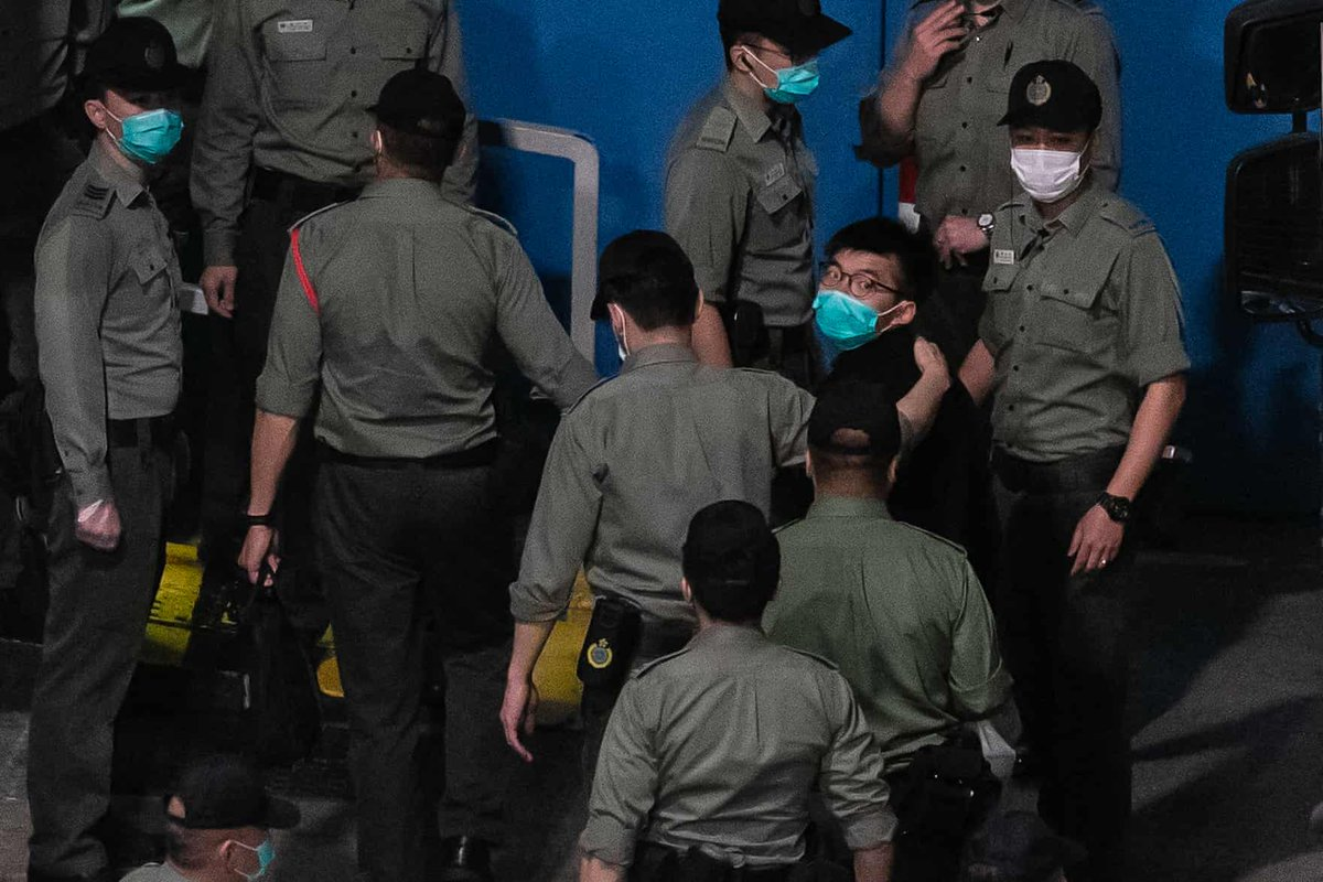 A week in China: authorities prosecute democracy activists in Hong Kong. which allows them to meet without criticism in Beijing, which enables them to carry out mass detention, surveillance, and cruelty against Uyghur/Turkic Muslims in Xinjiang. https://t.co/im2fJKyn2U https://t.co/yp33S84jVW