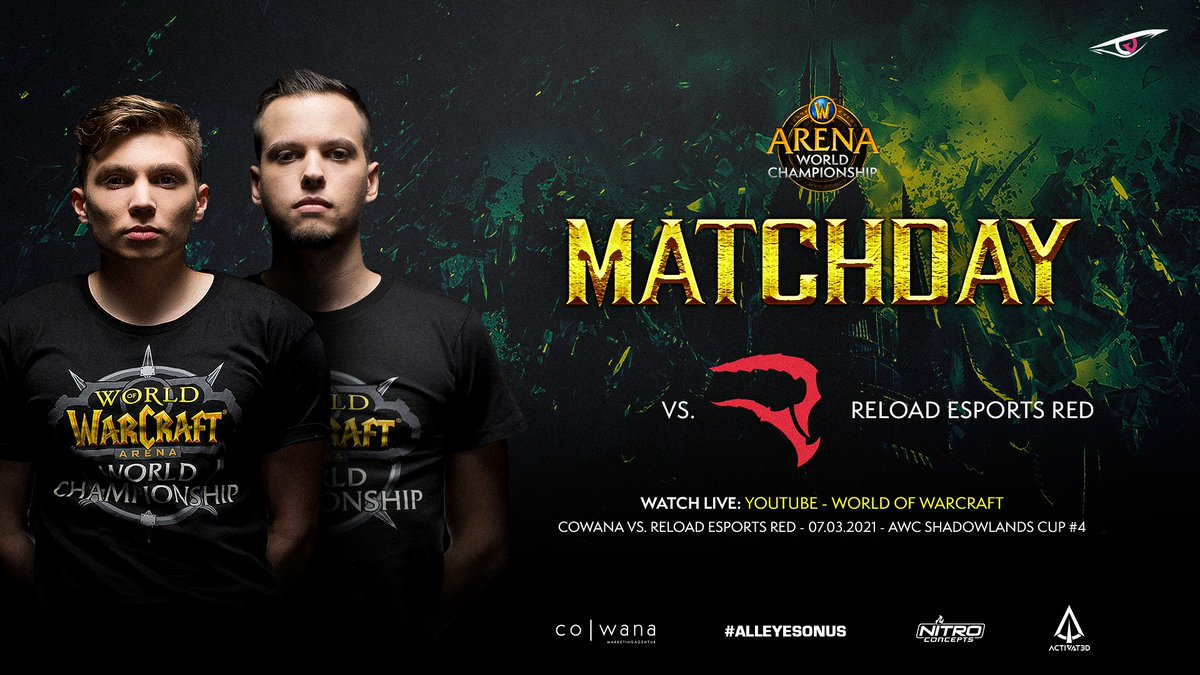 It's time for #ChampionshipSunday 👊   After our win on Friday, we are now ready to fight @reloadesportses at the lower bracket final ⚔  🕖: 19:00 CET 📺:   #GOWANA