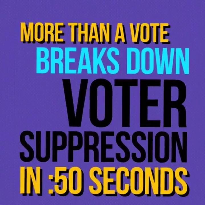 This #NBAAllStar weekend in Atlanta, we're calling out voter suppression in Georgia -- and across the country. Here's what you need to know: