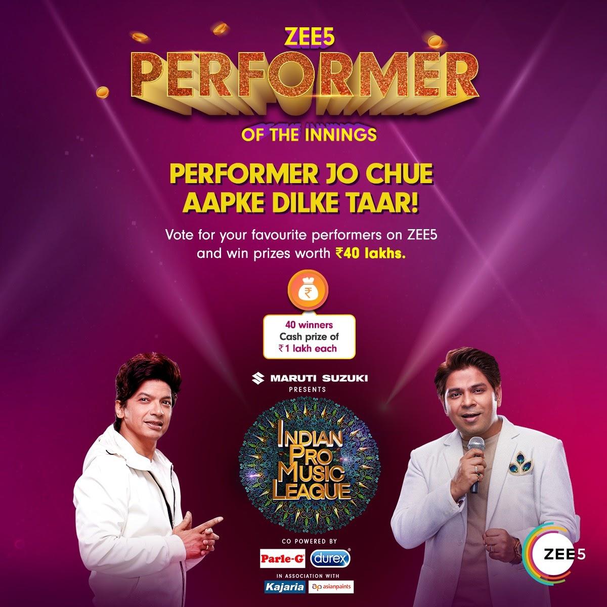 Dabbangs aur Tigers ke beech chhid gayi hai musical jung! Aap kiski side par ho? Vote and win with #IndianProMusicLeague on #ZEE5. Ab mil kar naara lagao #MusicUnchaRaheHamara!  Watch:   #ZEE5 #IndianProMusicLeague #IPMLonZEE5  #MusicUnchaRaheHamara