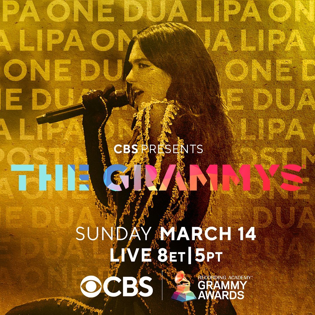 So excited to be back on the Grammy's stage!! You don't wanna miss this...Watch my #GRAMMYs performance Sunday, March 14th at 8pm ET/5pm PT on @CBS ‼️‼️‼️‼️ @RecordingAcad https://t.co/yT8sek5zww
