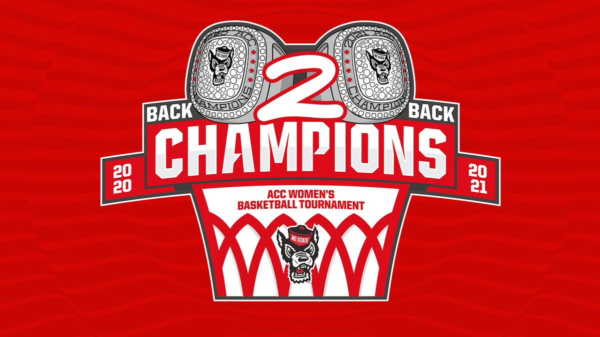 YOU ALREADY KNOW.  2021 ACC CHAMPS.  #GoPack // #WeWin