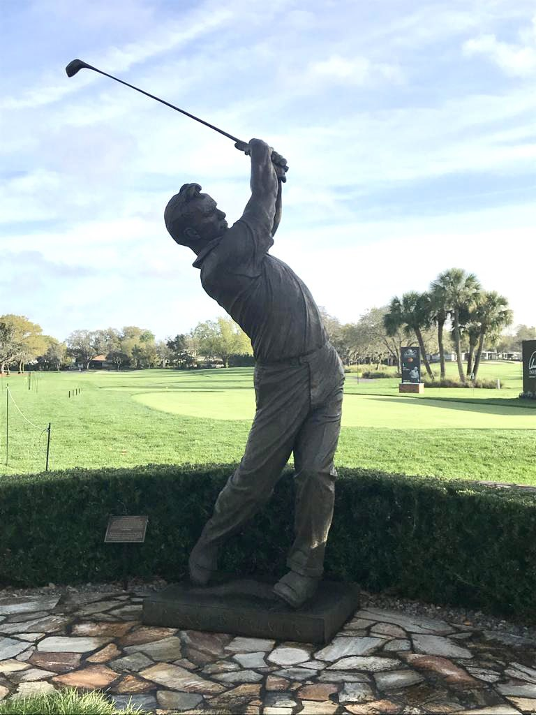 """""""King"""" for a day? 👑 #ChampionshipSunday at the #APinv! Who will wear Mr. Palmer's 'crown' for the next year? He will have lived a #LifeWellPlayed… ⛳️ #NateraSport #StaminaPro #golf #golffitness #pgatour"""