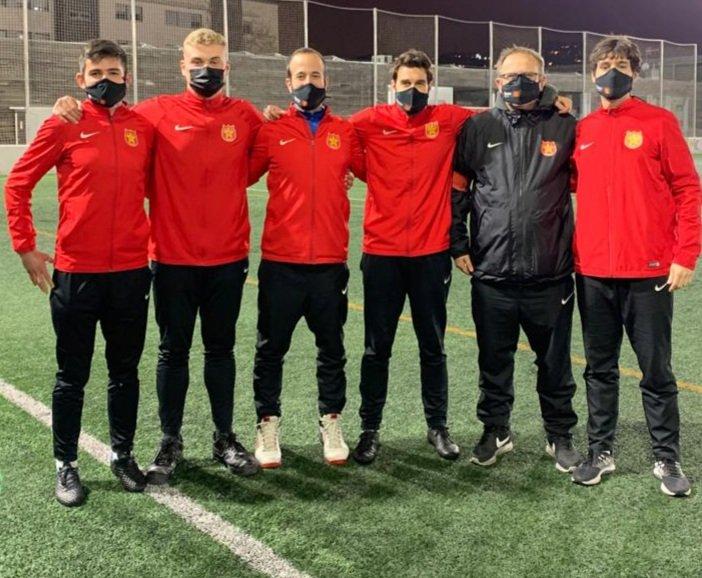 Ignasi Falcés, Arnau Carrillo, Genís Sampietro, Ramon Ferrer, Juan Carlos García i Pere Carrasco #futbolcat