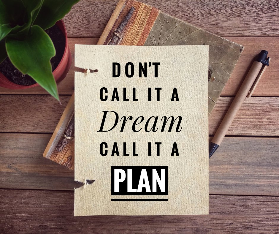 DON'T CALL IT A #Dream CALL IT A #PLAN. 🙌👍  #quote #quoteoftheday #Writers #writer #inspirational #selflove #mindfulness #successful #Wisdom #PositiveVibes #happiness #Entrepreneurs #business #gratitude #Mindset #Healing #woman #motivation #Trending #LifeGoesOn #life #love #win