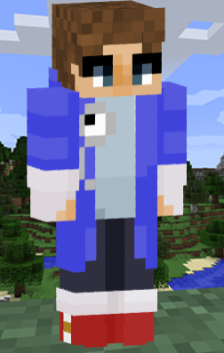 Since pantstwt is making Time Traveler Connor real I decided to make a skin for him to use if he wanted to!   You can download the skin here:   @ConnorEatsPants @subtoconnorpls #connoreatspantsfanart #TalesFromTheSMP #connoreatspants  (rts are appreciated)