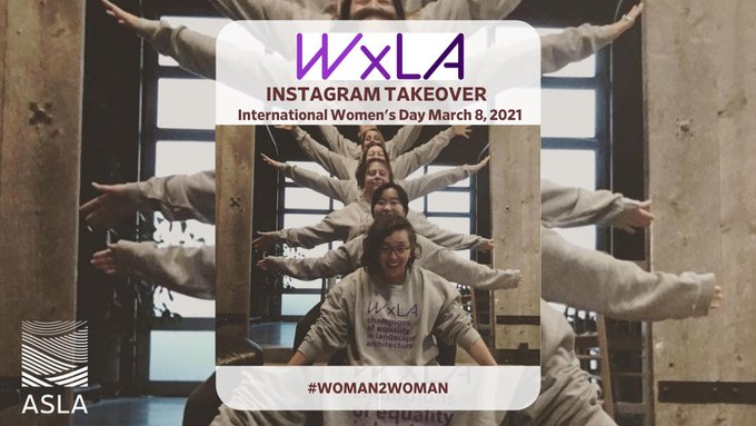 Tomorrow _x_la will be taking over 's Instagram in celebration of , March 8th. Be sure to keep a....