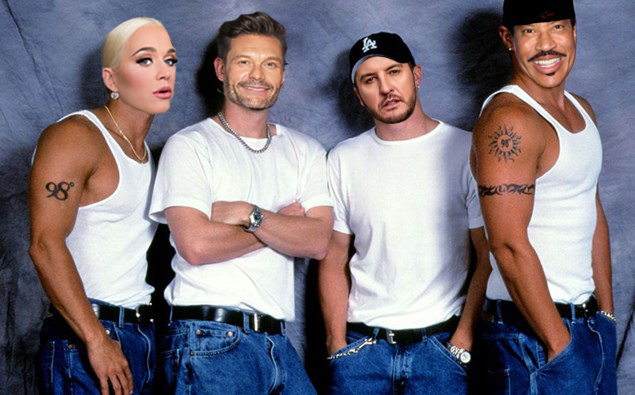 Name this band…. @AnthonyJamesKey taught us the moves. I think we're ready. @katyperry @RyanSeacrest @LionelRichie #AmericanIdol