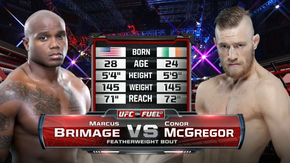 #UFC Debut: Conor McGregor vs Marcus Brimage | Free Fight  #MoviesTVTj