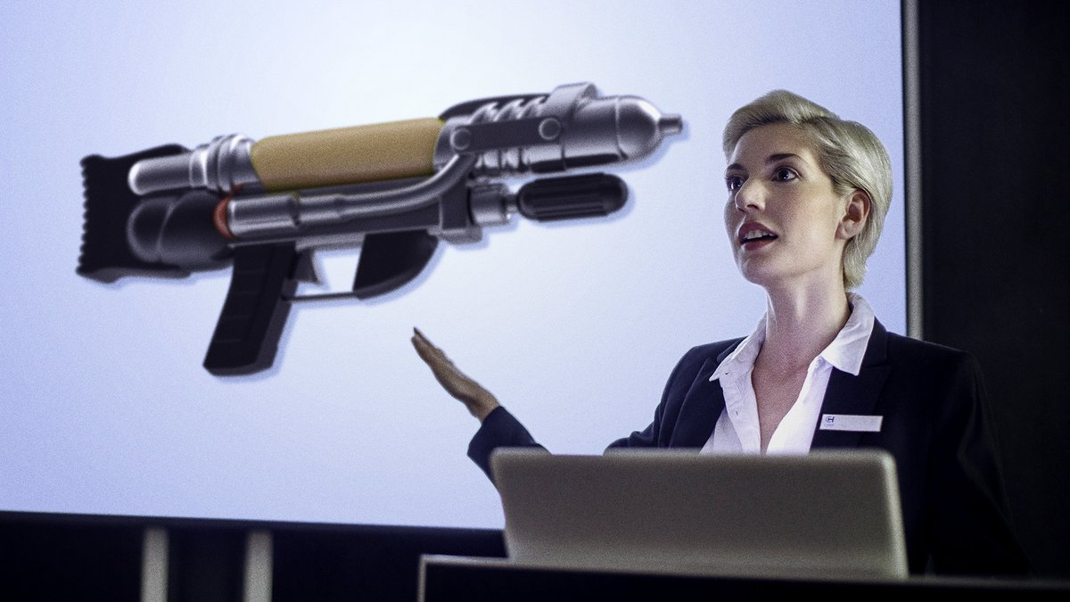 Health Experts Recommend Against Getting Zapped By Any Sort Of Futuristic Space Gun