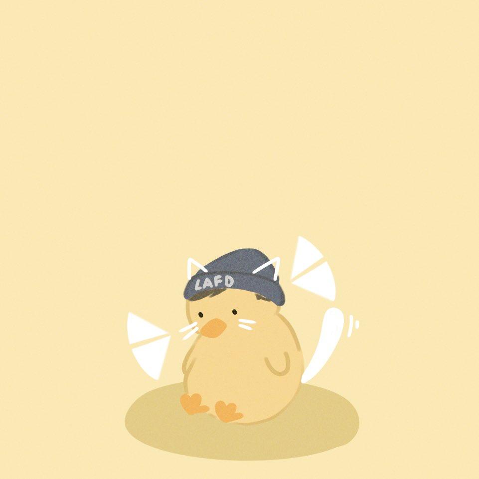 IM BACK!! here's a duck- cat big q #quackity #quackityfanart