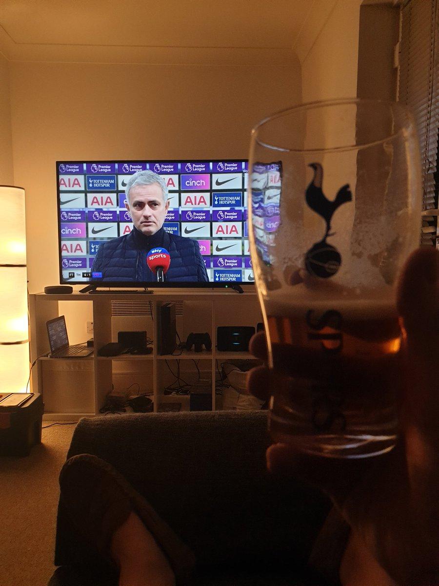 Cheers Jose! 😁🍺👍#COYS