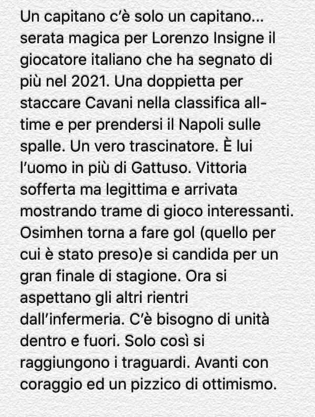 #NapoliBologna