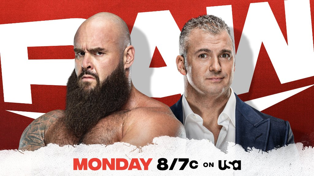 Will @shanemcmahon issue an apology to @BraunStrowman tomorrow night on #WWERaw?