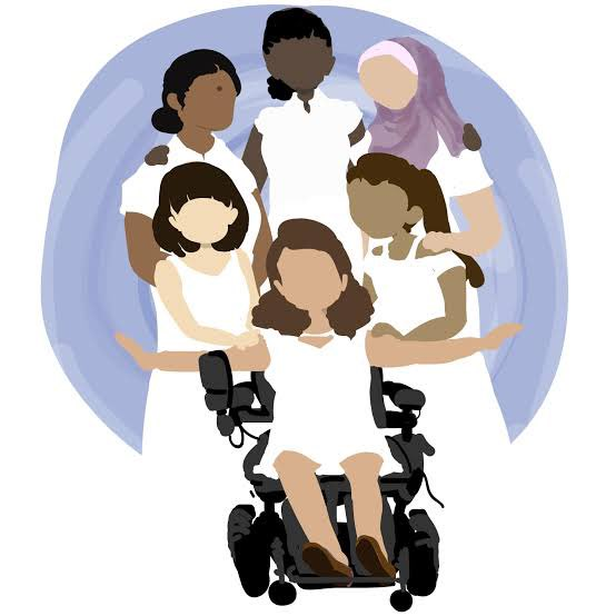 Your friendly #IWD reminder that disabled women are women. Trans women are women. Aboriginal/PoC women are women. We must be included in womens' spaces. All women must unite to ensure no woman is left behind. Your feminism is intersectional or it is bullshit - Flavia #IWD2021