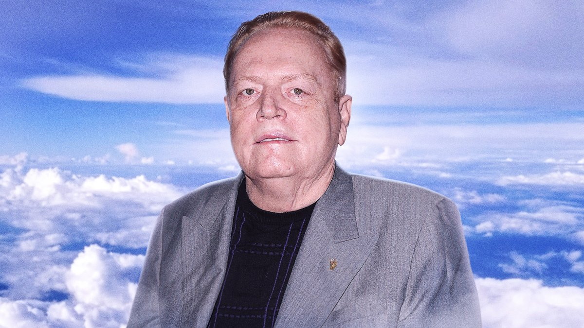 Larry Flynt Promises To Make God Famous With Nude Photo Shoot