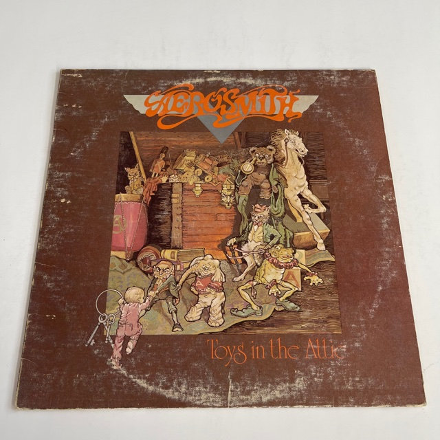 Excited to share the latest addition to my #etsy shop: Aerosmith - Toys in The Attic (1975)  #christmas #pop #vinyl #album #record #aerosmith #retrorecordsmusic