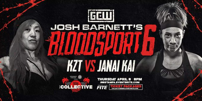 "First Matchup Announced For Josh Barnett's ""Bloodsport 6"""