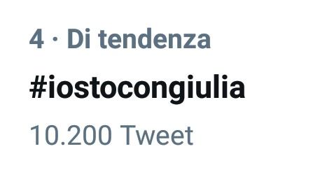 #iostocongiulia