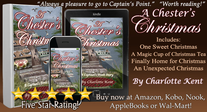 Don't Miss! A Chester's Christmas  by me as @CharlotteKent20 #CaptainsPoint #SmTown #Christmas #Romance #iTunes #Kobo #Nook #BestRead #tw4rw #BookBoost #SWRTG #authorRT