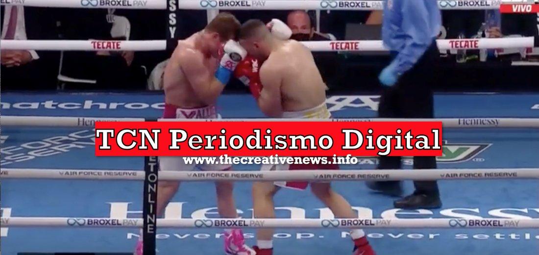 TCN Periodismo Digital 🌐 Canelo Álvarez campeón por la Asociación y el Consejo Mundial de boxeo imparable ⏯️  #Boxing #DeportesTCN #Canelo #Ecuador #TCN