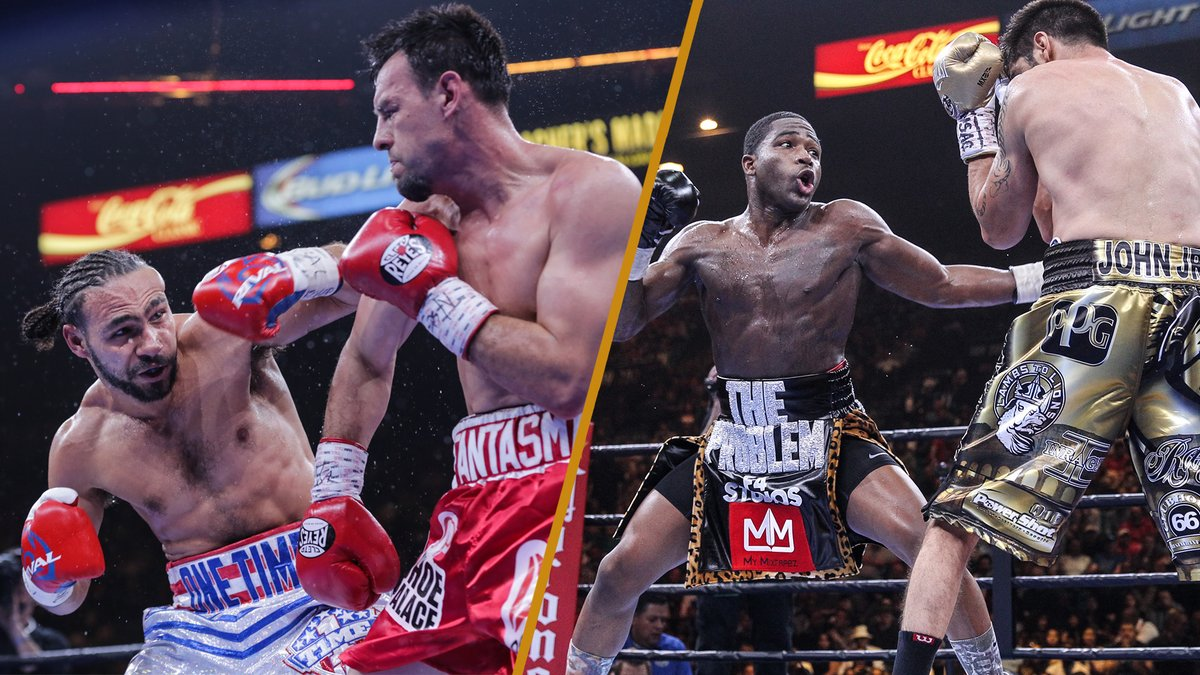 Today marks six years since our inaugural PBC event in 2015. Thank you to everyone still rockin' with us! 🤜 🤛  #PremierBoxing #ThurmanGuerrero #BronerMolina