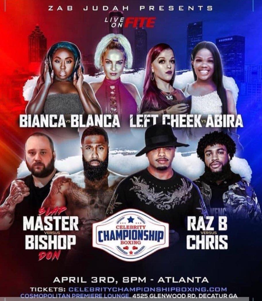 Celebrity Championship Boxing Event in Atlanta..  #atlanta #atl #losangeles #detroit #newyork #newjersey #miami #chicago #houston #boxing