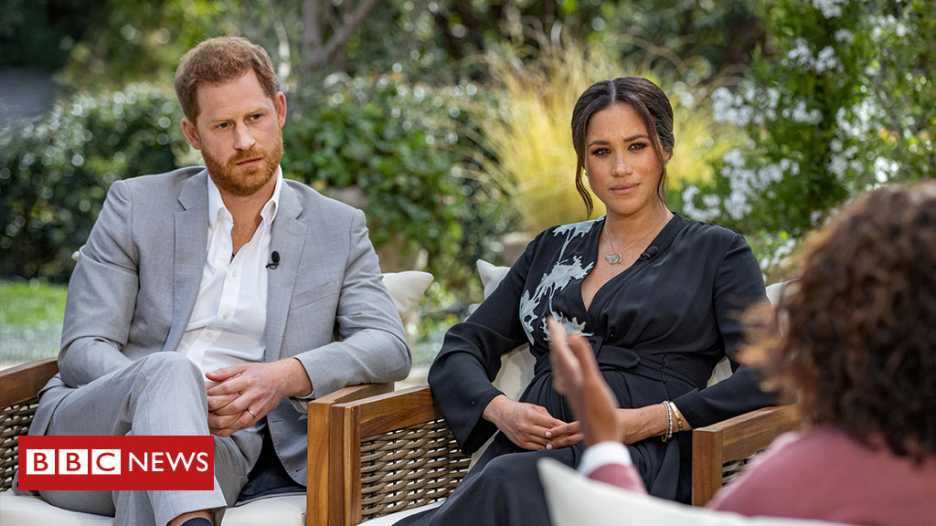 Prince Harry and Meghan reveal raft of revelations in Oprah interview   Follow reaction to the interview