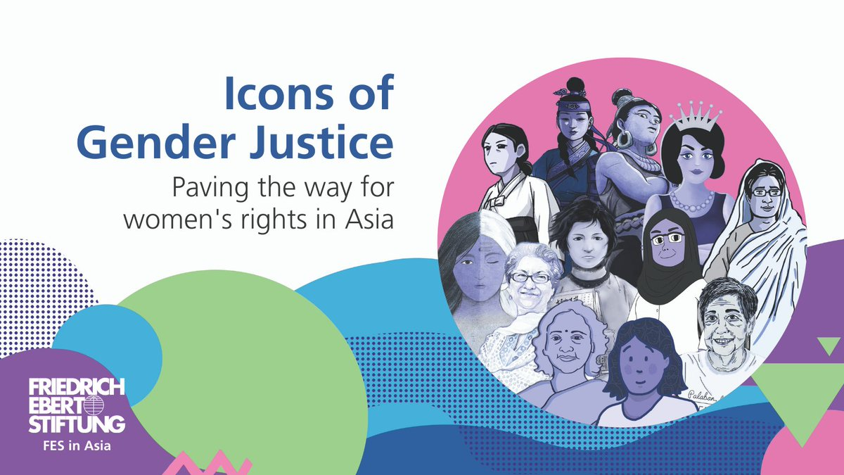 On this #InternationalWomensDay, we #ChooseToChallenge who is talked about in our history books by sharing the stories of #Asian Icons of #GenderJustice to show how manifold the roots of feminism and #GenderEquality are in Asia. Download it here👉asia.fes.de/news/gender-ic…
