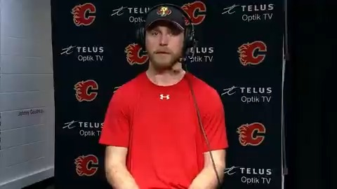 A slow start for us again. We did a really good job of battling back ... but youre not going to win too many hockey games when you start like that. Sam Bennett comments on tonights game against Ottawa.