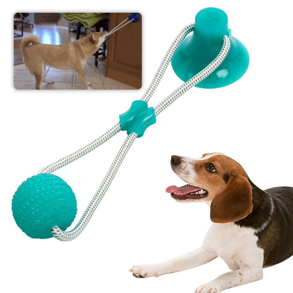 Dog Multifunction Molar Bite Toy Chew Ball Bseelo - Simple Pets Neccessities Buy your pets' stuff @  Follow, Tag, and Share.  #SundayMorning #dogslover #Cats #dogs