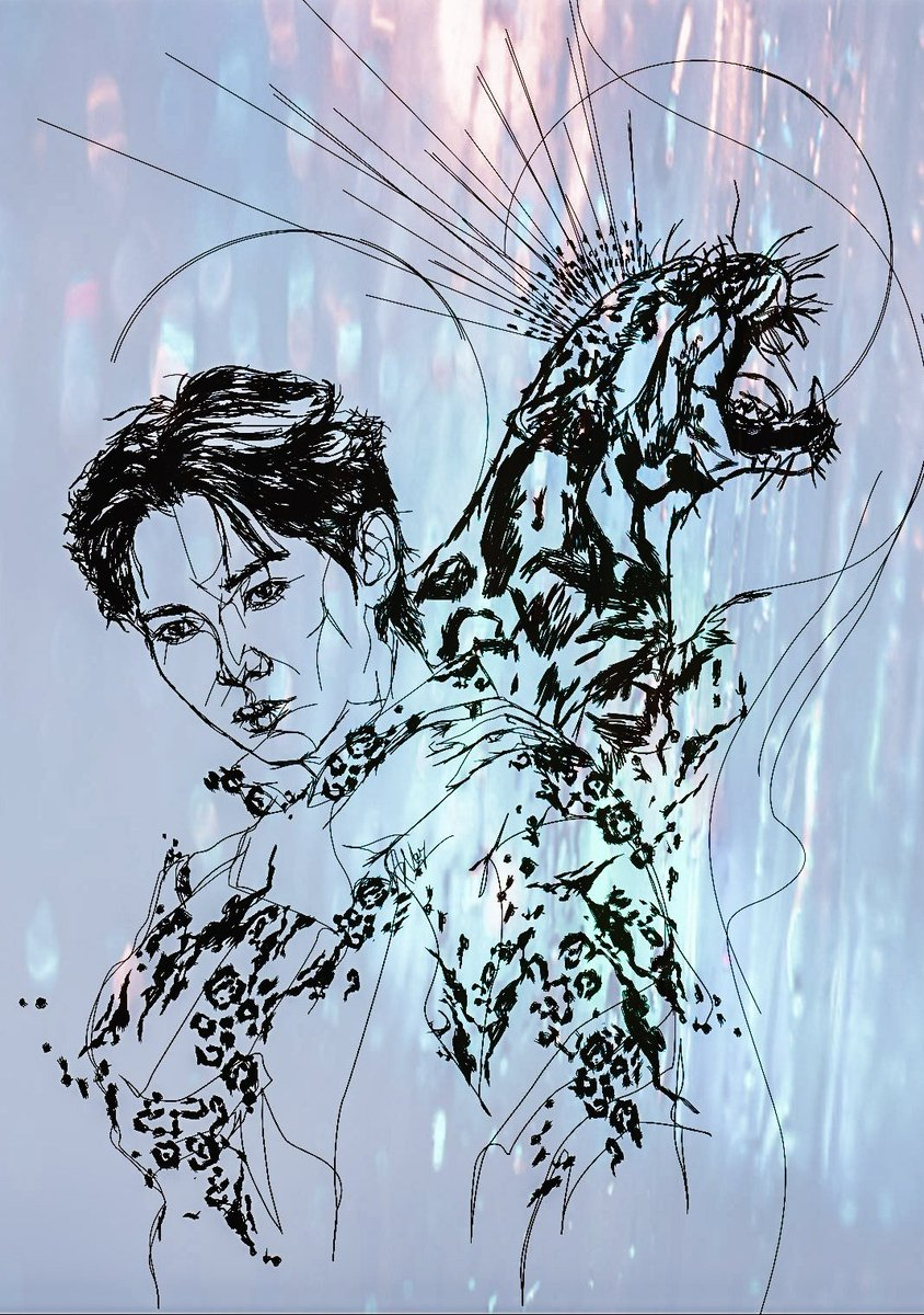 🤍King of Snow Leopards 🤍 @ATEEZofficial   #ATEEZ #YEOSANG #ATEEZfanart  #ATEEZ_ZERO_FEVERPart2 #fanart #kpopfanart #ArtistOnTwitter #artwork