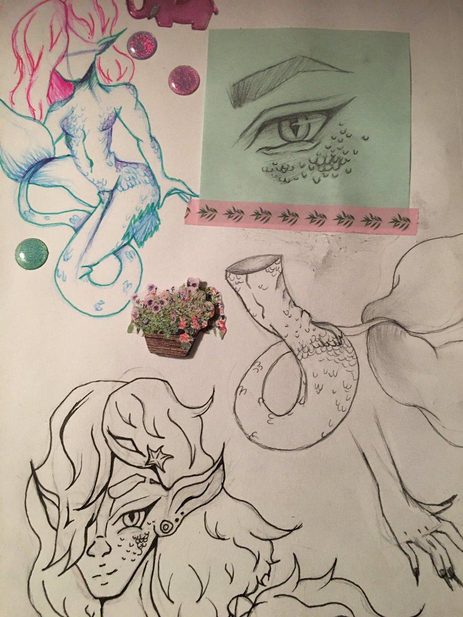 Some planning for a bigger drawing! #drawing #cartoon #sketch #illustration #animegirl #art #artist #artwork #doodle #sketch