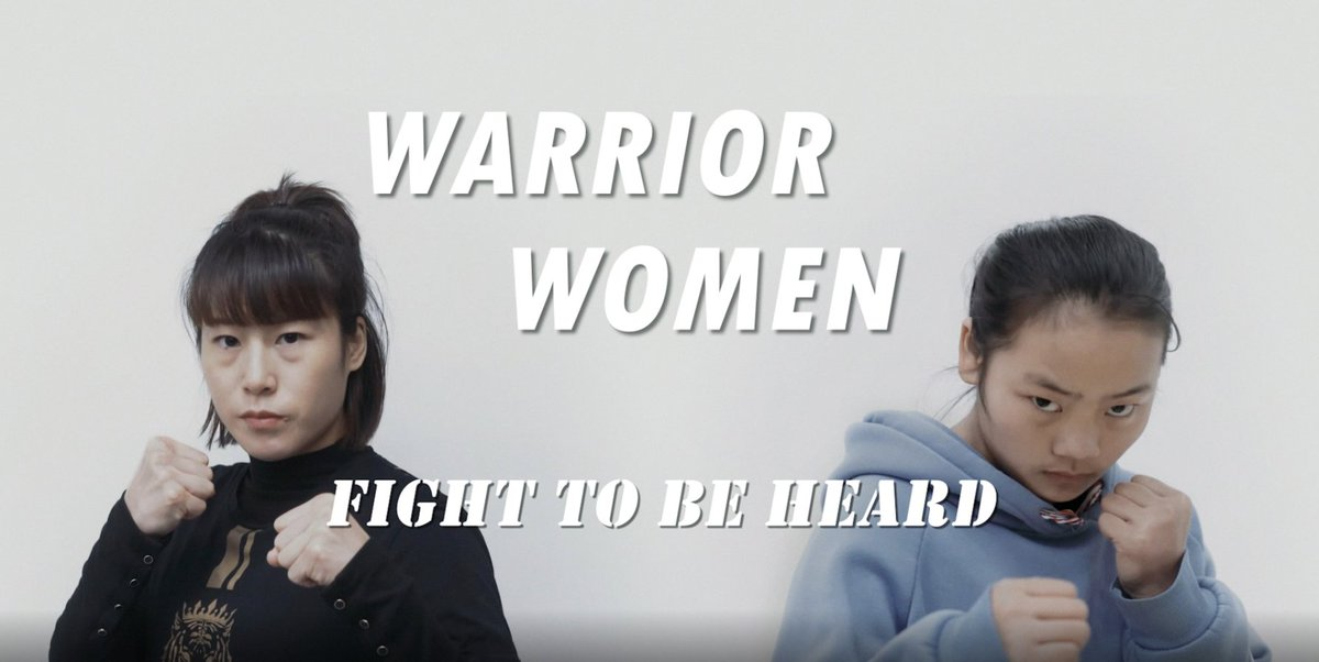 Fighting to be heard! Click to watch how Meng Bo and Long Sixiu show the strength of women  #GLOBALink #MMA #boxing #womensday