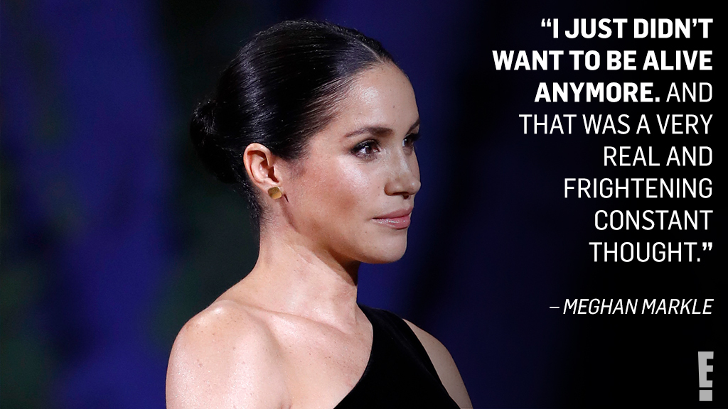 Meghan Markle was trapped and didn't receive help from the royal family, even when she was on the verge of suicide.