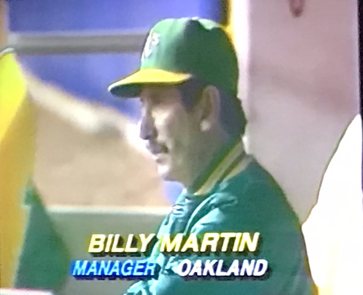 Watching 1981 American League championship. A's were my favourite AL team. Was hoping for an Expos-A's World Series that year.