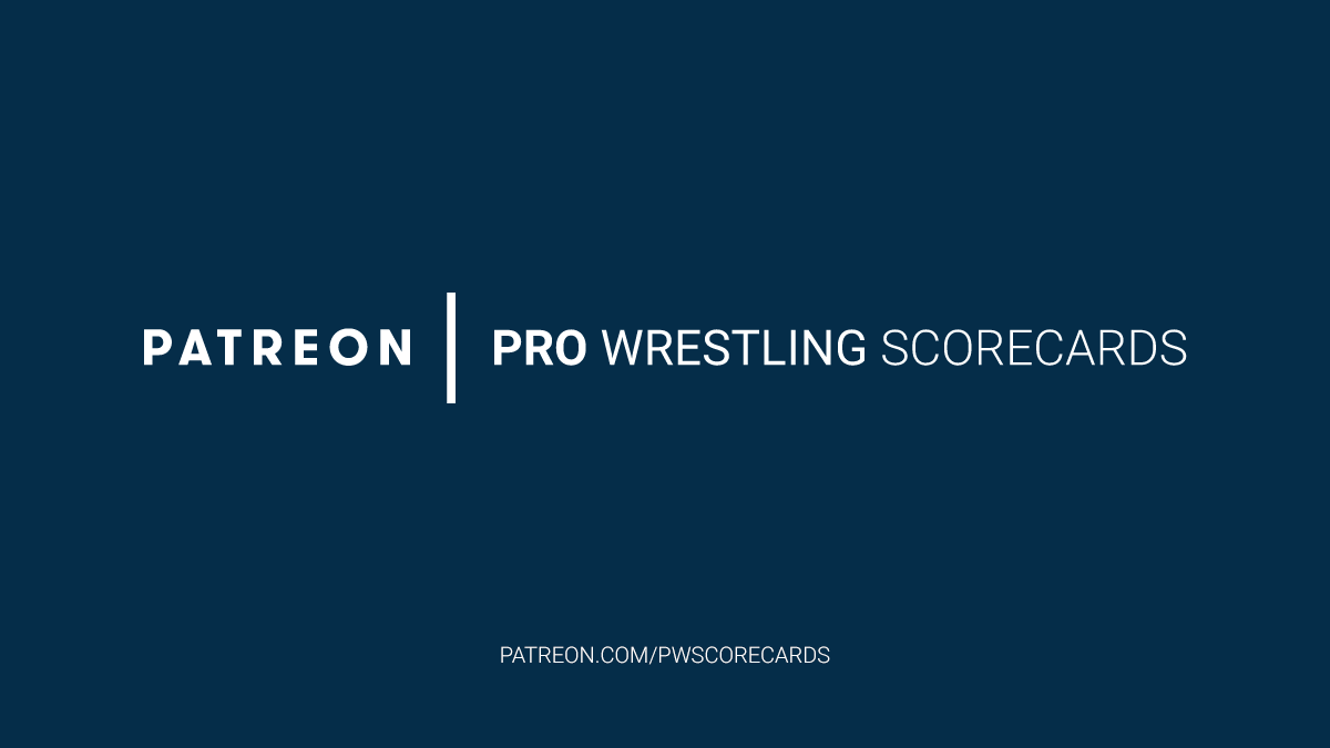 We hope everyone is having fun playing along with #PWS for #AEWRevolution. If so, please consider donating on #Patreon to help Pro Wrestling Scorecards continue development of our current system and upcoming app.