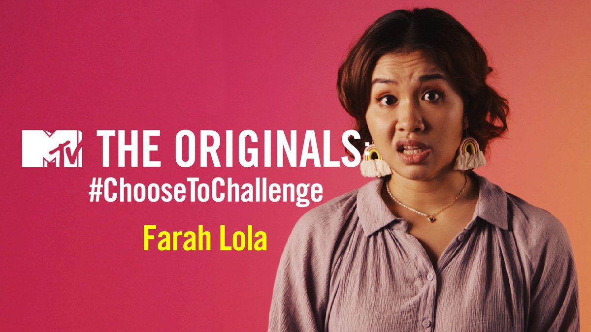 as part of our #InternationalWomensDay celebrations, we sit down with @iamfarahlola to talk about the difficulties of navigating comedy as a woman, & more!  check out the full episode with #FarahLola below! 👇   #MTVTheOriginals #ChooseToChallenge #IWD2021
