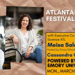 The @ATLSciFest, co-founded by Emory, returns March 13-17 to celebrate metro Atlanta as a powerhouse of innovative research. Join Emory's @QuaveEthnobot and festival co-director Meisa Salaita for a preview March 8 at 11 a.m. via a Facebook Live event: https://t.co/tJutMsnoAY