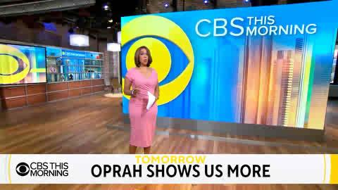 TOMORROW: @Oprah Winfrey will join us live with never-before-seen clips from her interview with Duchess of Sussex, Meghan & Prince Harry. Watch @CBS Monday 7-9 a.m. #OprahMeghanHarry