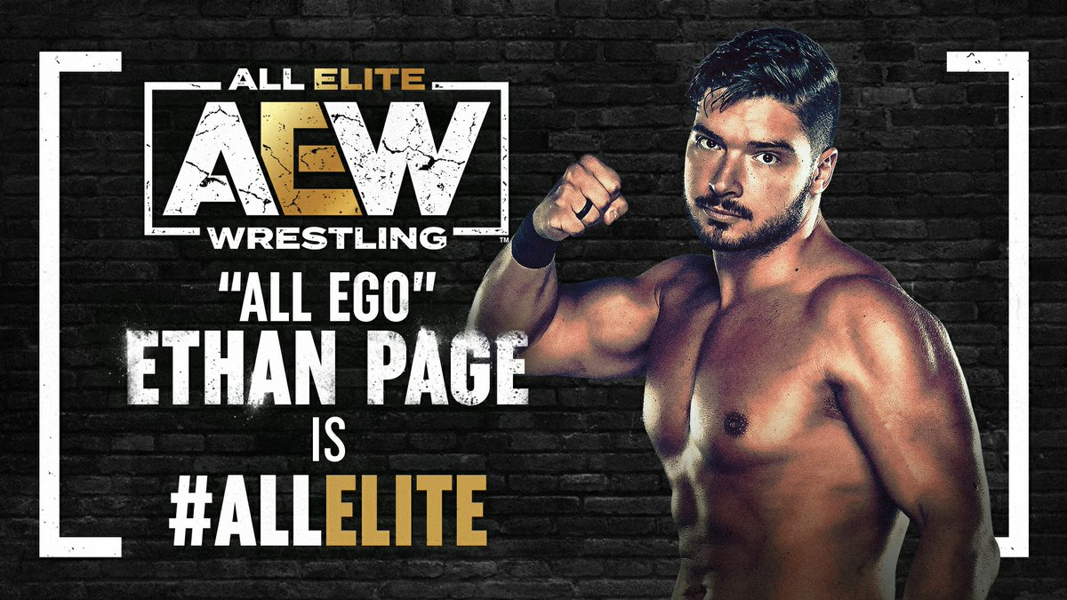 Welcome to the team...  #AllEgo Ethan Page (@OfficialEGO) is #AllElite