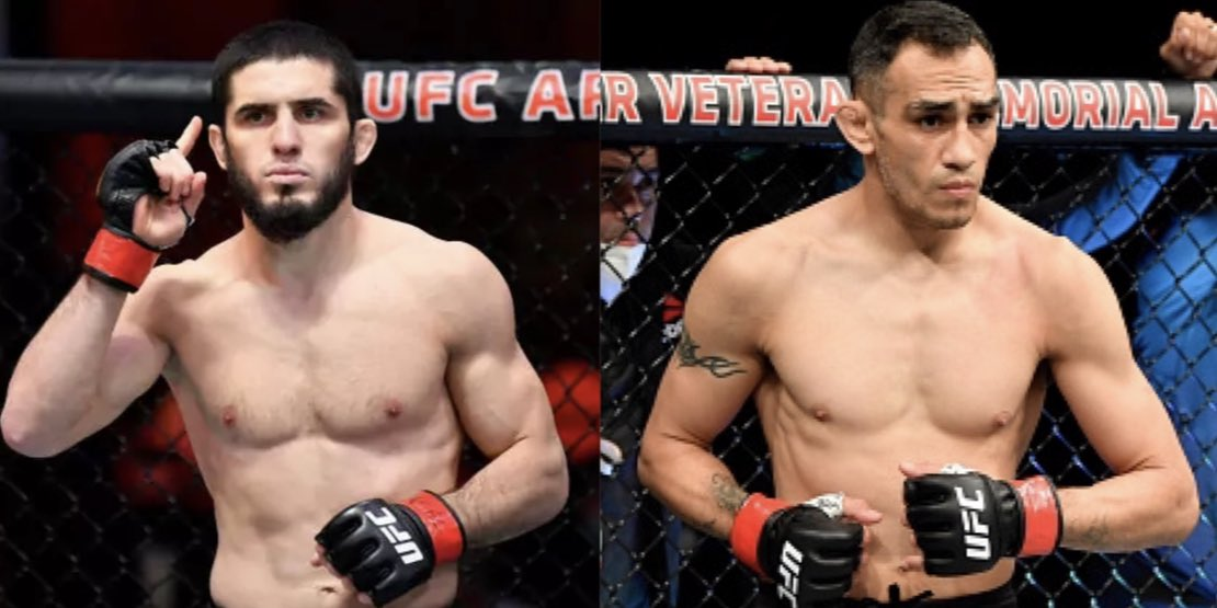For now, this is the closest thing to Khabib vs Tony we can get. Might as well make it happen🤷♂️ #UFC #MMATwitter