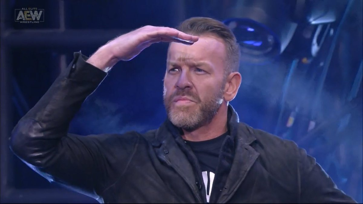 Christian Cage is ALL ELITE 🔥 https://t.co/k4cg2VmWhV
