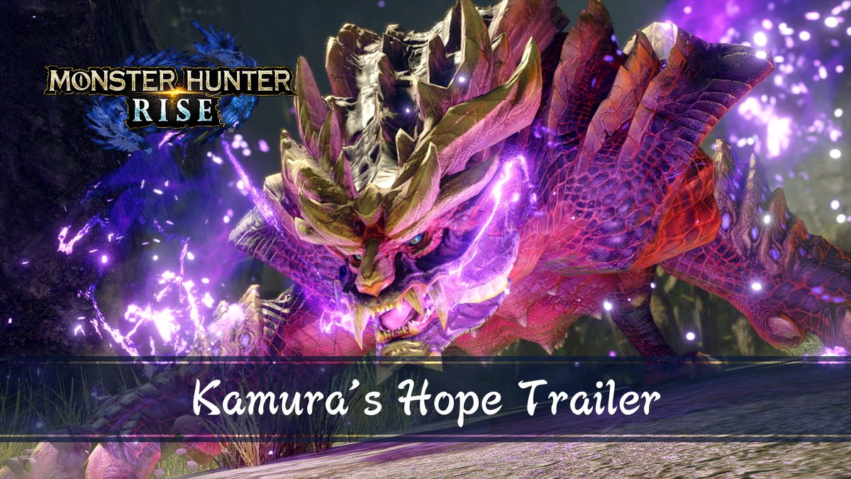 Valiant Hunters, you are Kamura's only hope. #MHRise  Don't blink or you'll miss our first free Title Update monster reveal... 👀