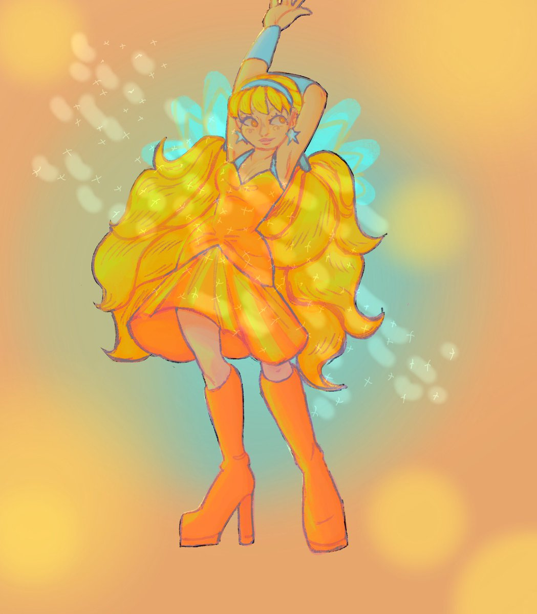 stella from winx when she-