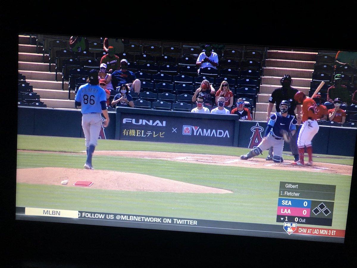 *Loves baseball* *Works in baseball* *Puts on baseball to fall asleep*