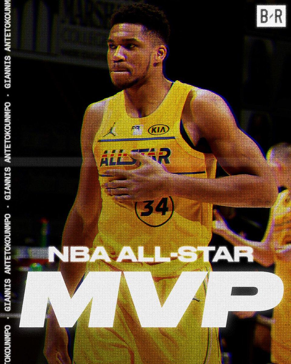 Giannis wins the Kobe Bryant All-Star Game MVP 🏆  35 PTS | 16-16 FG | 7 REB https://t.co/K4dp9NPDdx