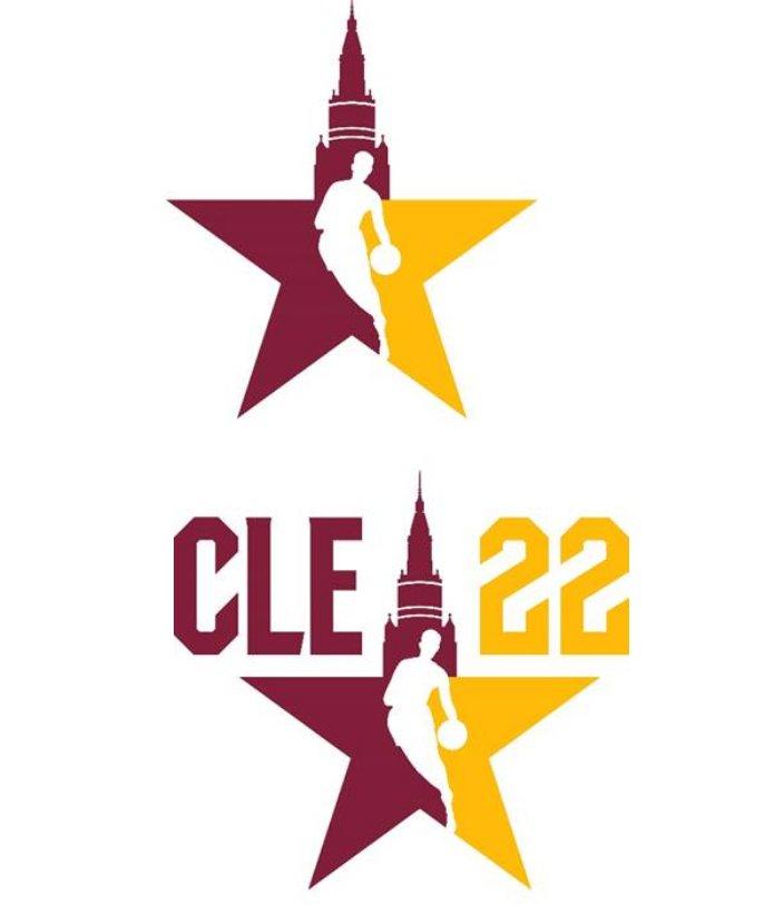 NBA reveals Cleveland All Star game 2022 logos  #nba #GoSpursGo #NBATwitter