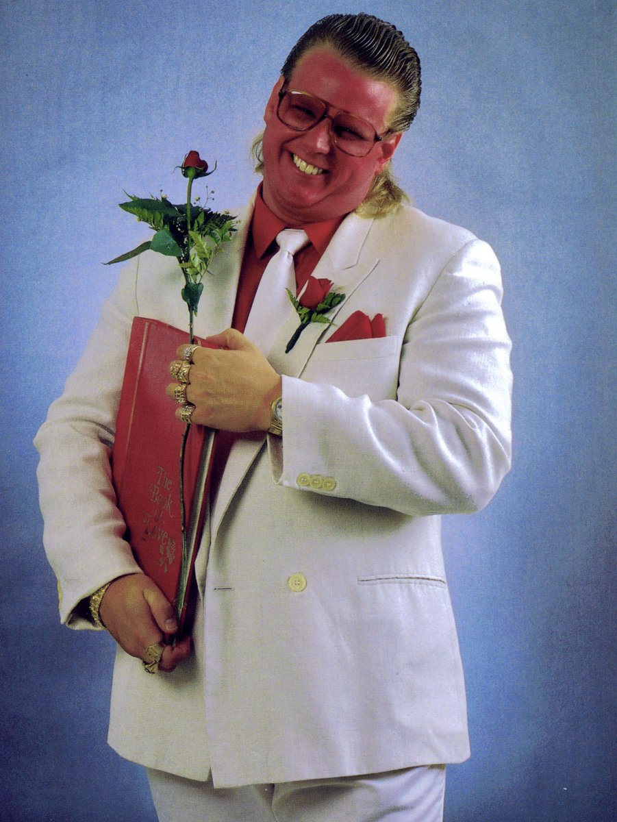 🎂Happy Birthday to Brother Love! @bruceprichard #BrotherLove #BrucePrichard #WWE #NXT #WWEUniverse #ECW #NWA #WCW #ImpactWrestling #ROH #AEW #MLW #WWENetwork #AWA #WCCW #LuchaLibreAAA #CMLL #NewJapan #NJPW #ProWrestlingNoah #AJPW #UWA #PWG