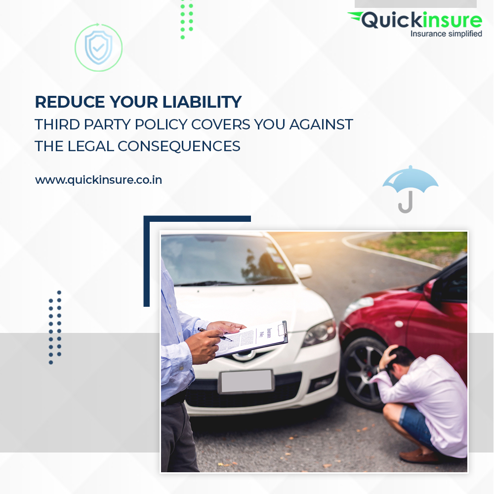 Third Party Policy protects you against any Loss or Damage caused third party property or person.  Visit:  . . #accidentalinsurance #compare #Buy #Renew #onlineinsurance #staysafe #stayprotected #stayinsured #carPolicy #onlineinsurance #pune #onlinepolicy